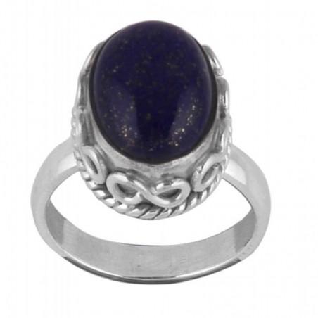 Handmade Lapis Lazuli Gemstone Ring