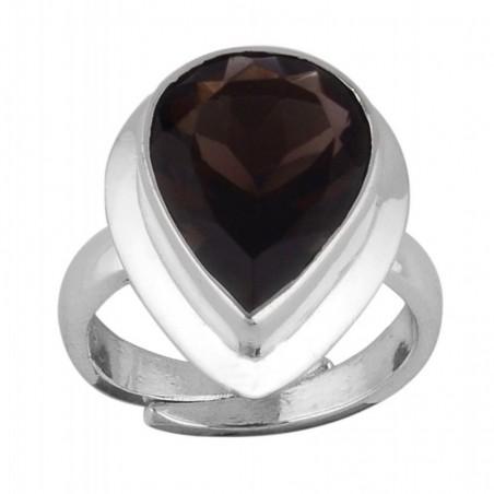 Wonderful Smokey Quartz Gemstone Ring