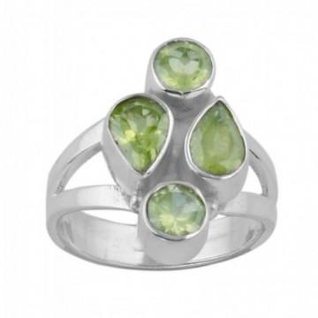 Elegant style Peridot Gemstone Ring