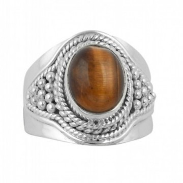 Amazing design Tiger Eye Gemstone Ring