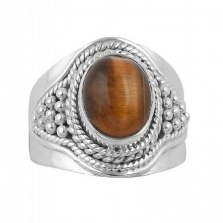 Amazing design Tiger Eye Gemstone Ring