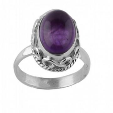 Handmade Designer Amethyst Gemstone Ring