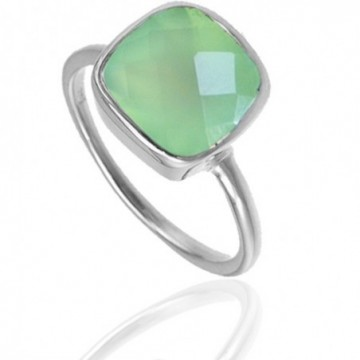 Handmade Prenite Gemstone Ring