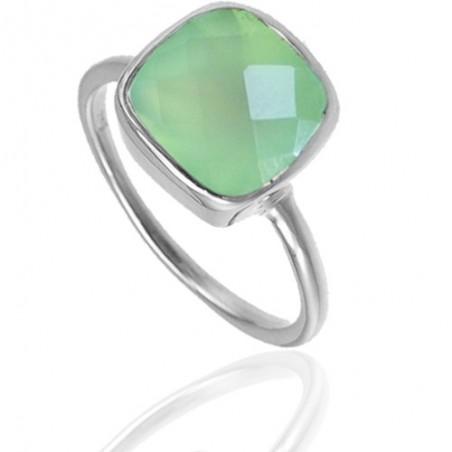 Handmade Prenite Gemstone Ring