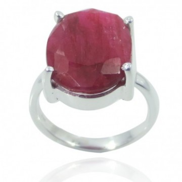 Handmade Designer Ruby Gemstone Ring