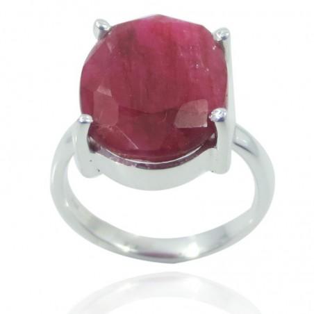 Handmade Designer Ruby Gemstone Ring