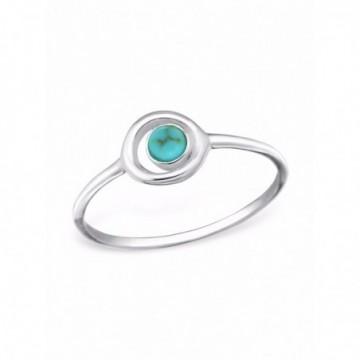 Handmade Turquoise Gemstone Ring