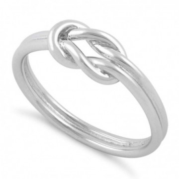 Handmade Reef Knot Ring
