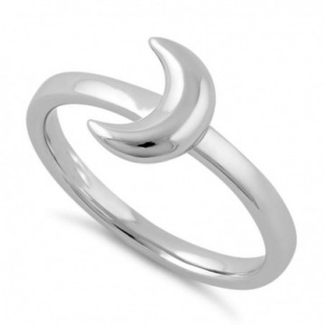Wonderful Moon Plain Ring
