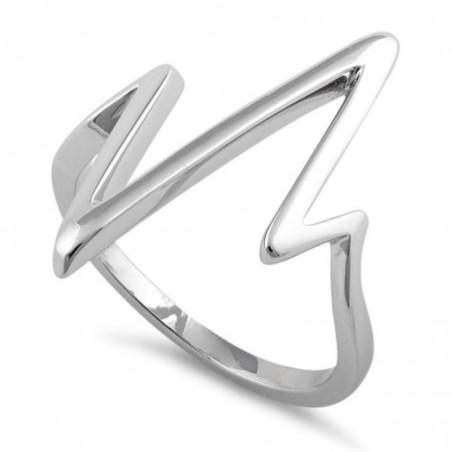 Elegant style Heartbeat Ring