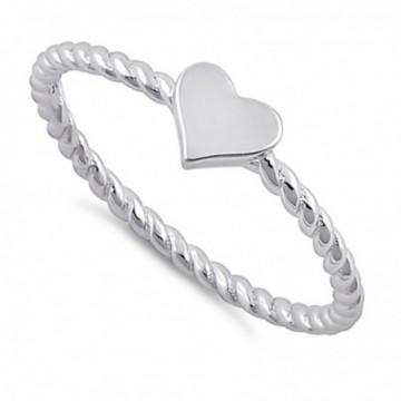 Handmade Heart Shape Ring