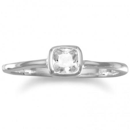 Amazing design Clear Quartz Gemstone Ring
