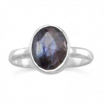 Handmade Labradorite Gemstone Ring