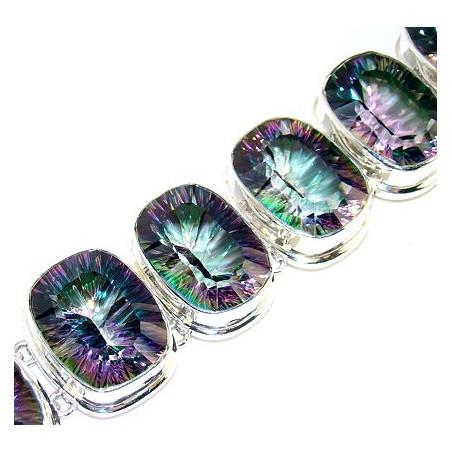 Bracelet with Mystic Topaz Gemstones