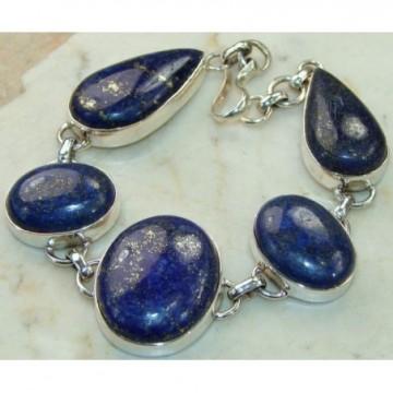 Bracelet with Lapis Lazuli Gemstones