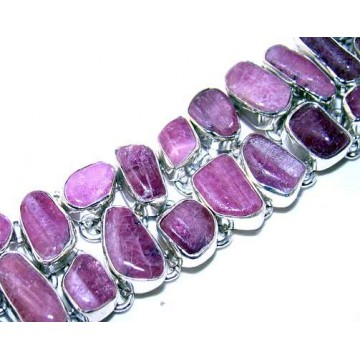 Bracelet with Ruby Gemstones