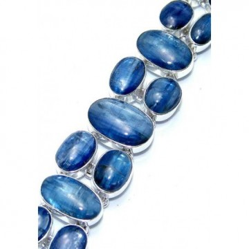 Bracelet with Kyanite Gemstones