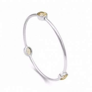 Handmade Citrine Gemstone Bangle