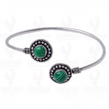 Designer Malachite Gemstone Bangle
