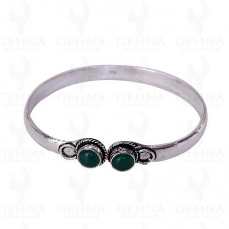 Elegant style Black Onyx Gemstone Bangle