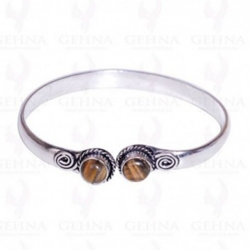 Designer Tiger Eye Gemstone Bangle