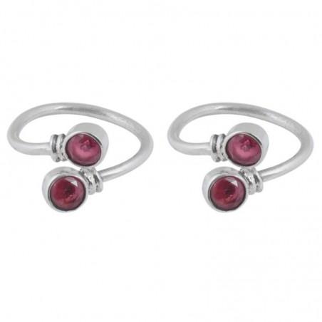 Exclusive Ruby Gemstone Toe Ring