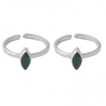 Exclusive Emerald Gemstone Toe Ring