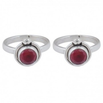 Exclusive Ruby Gemstone Toe Ring