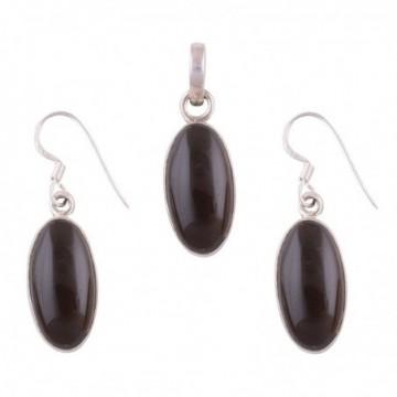 Elegant style Black Onyx Gemstone Set