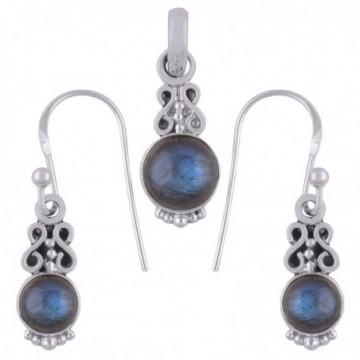 Elegant style Labradorite Gemstone Set