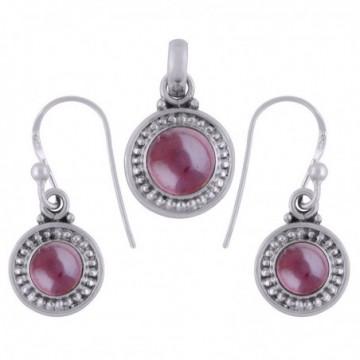 Elegant style Garnet Gemstone Set