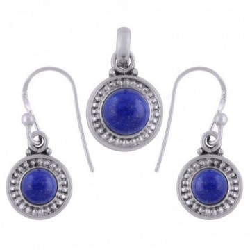 Elegant style Lapis Lazuli Gemstone Set