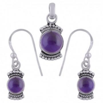 Elegant style Amethyst Gemstone Set