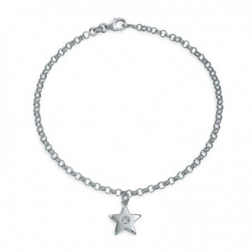 Lovely Clear Quartz Star Anklets