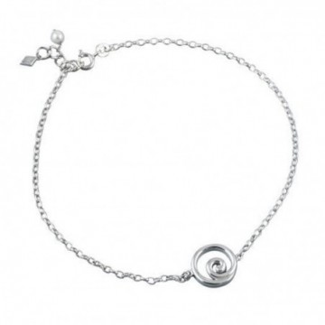 Lovely Style Spiral Seashell Anklet