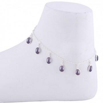 Wonderful Garnet Gemstone Anklet
