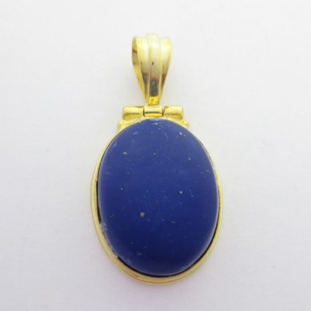 Artisan Crafted Lapis Lazuli Gemstone Pendant