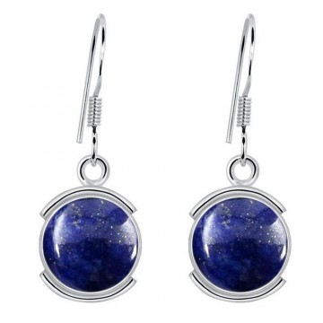 Best Quality Lapis Lazuli Gemstone Dangle Drop Earrings