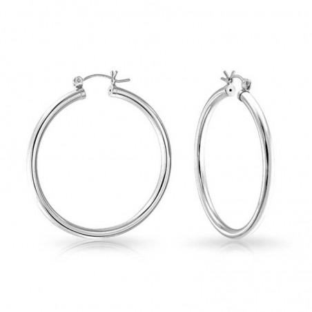 Amazing design Plain Hoop Earrings