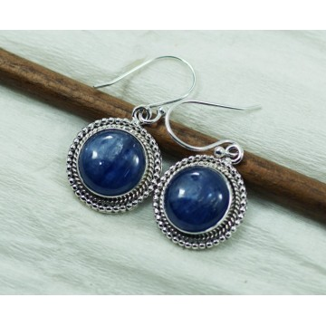 Beautiful Kyanite Gemstone Dangle Drop Earrings