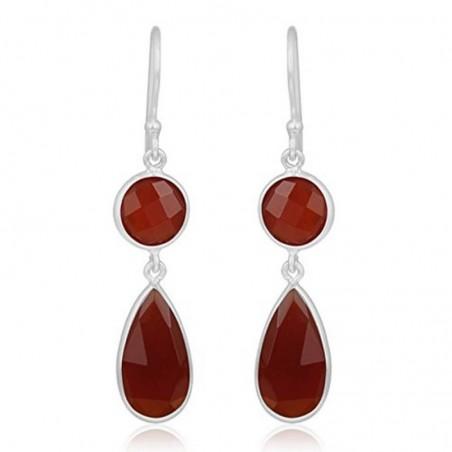 Wonderful Caroline Gemstone Dangle Drop Earrings