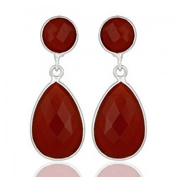Beautiful Caroline Gemstone Studs Earrings