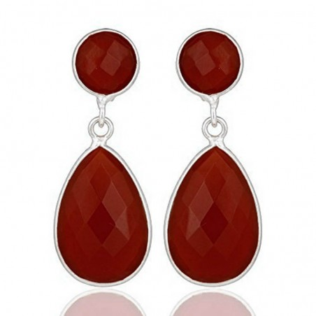 Beautiful Caroline Gemstone Studs Earrings