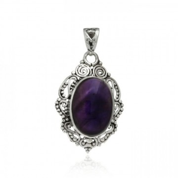 Wonderful Amethyst Cabochon Gemstone Pendants