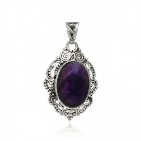 Wonderful Amethyst Cabochon Gemstone Pendants