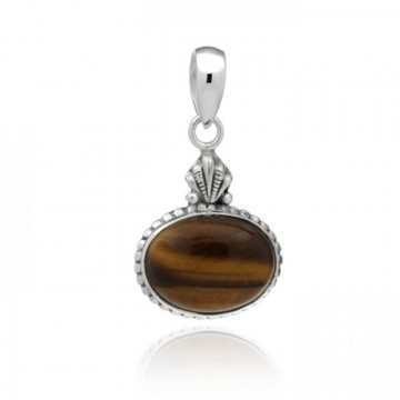 Wonderful  Tiger Eye Cabochon Gemstone Pendants
