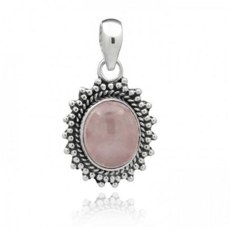 Wonderful Rose Quartz Cabochon Gemstone Pendants