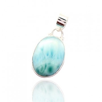 Best Quality Larimar Cabochon Gemstone Pendants