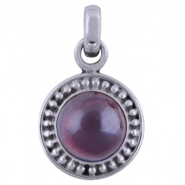 Beautiful Garnet Cabochon Gemstone Pendants