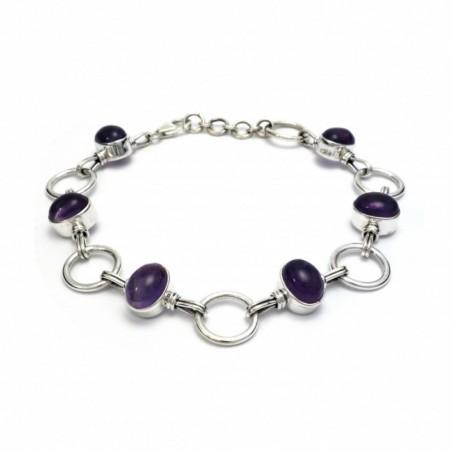 Artisan Crafted Amethyst Gemstone Bracelets